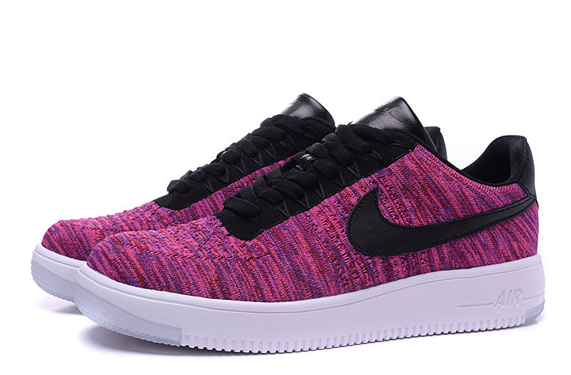 nike force one homme,air force 1 flyknit rouge et noir F2a74c