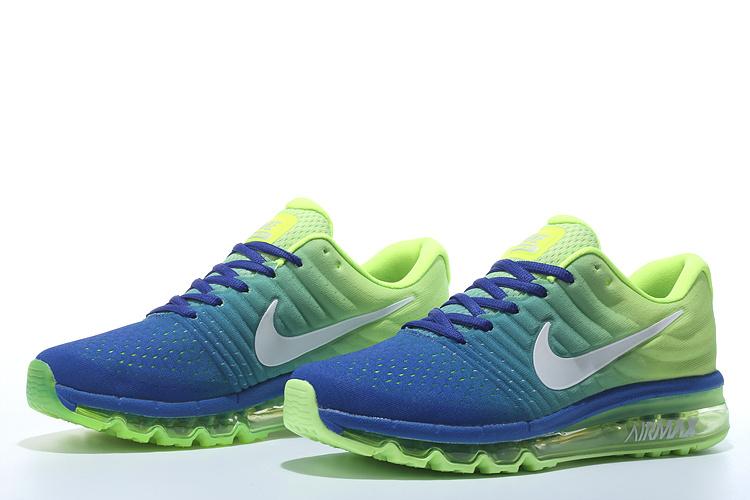sports shoes d845e c9476 chaussure nike air homme,air max 2017 bleu et verte homme aZ eWxswQaC
