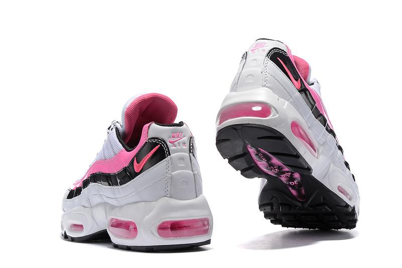 online store d9ba1 f297f air cher max femme chaussure pas blanche nike 95 et et nike rose tqgXBtn4xw