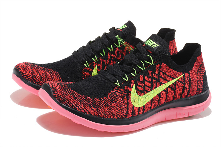 newest 71b12 11ba6 ... coupon for nike free run v3 2015vendre nike free 4.0 flyknit femme noir  et rouge 6gdycy4