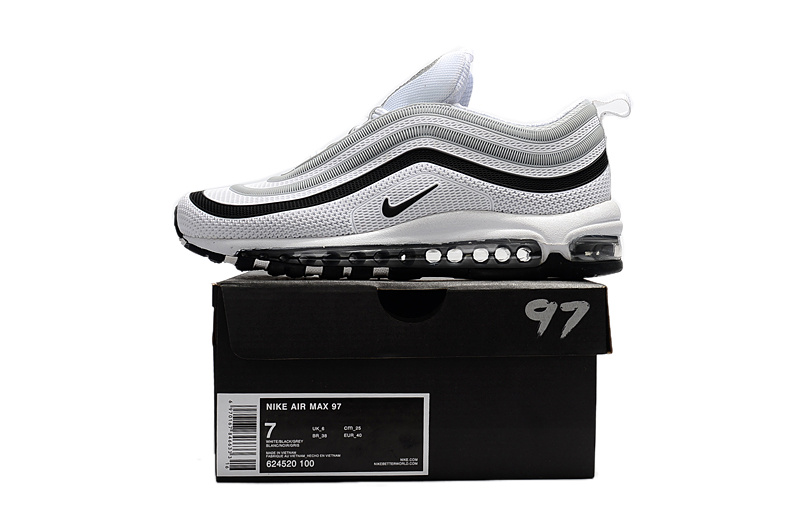 quality design 677df c5a36 Air Noir Chaussure Nike Max Et Homme nike Max 97 Blanche Soldes EEpq1fR
