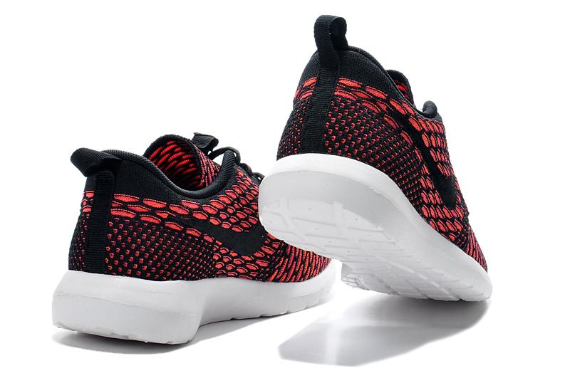 Nike Et Homme vendre Soldes Run Roshe Flyknit Homme Rouge 8Nnvm0w