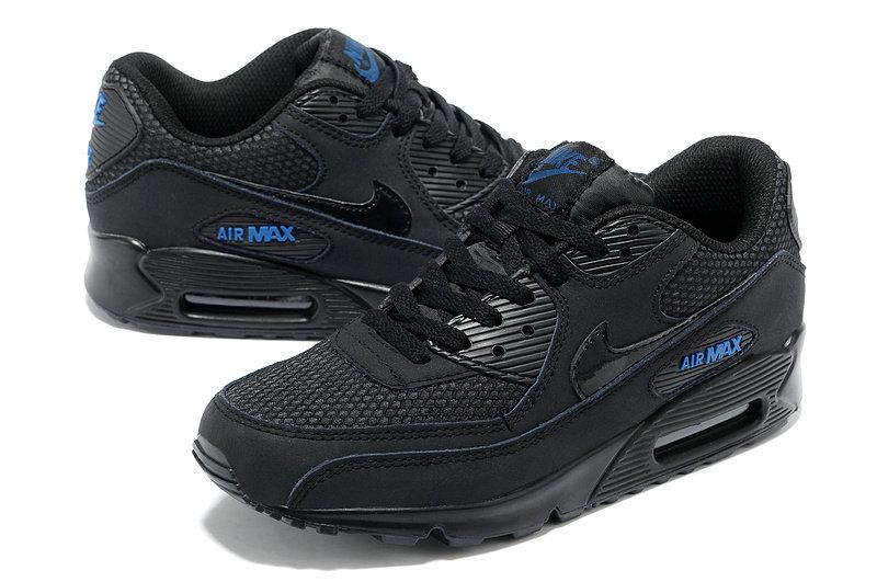 nike air max 90 noir et bleu