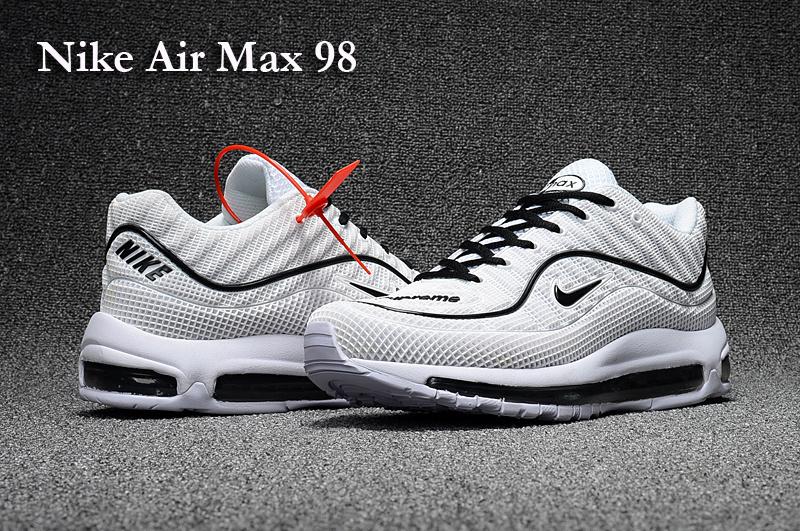 air max 98 noir et blanc