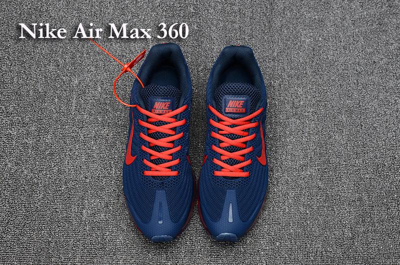 air max 360 rouge
