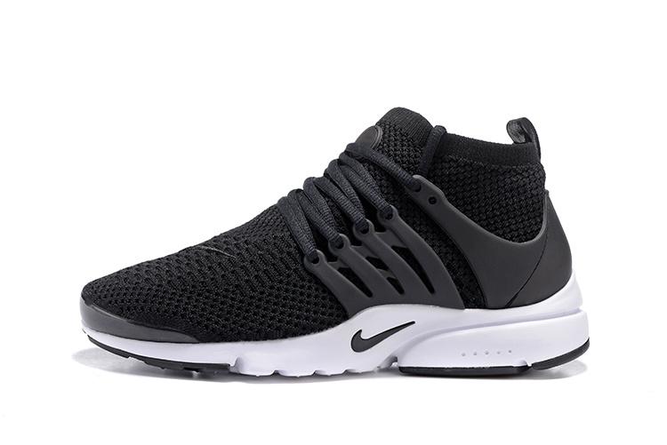 1ff6f4907c3c9 chaussures running femme poids lourd,air presto flyknit noir et blanche  femme  ExC